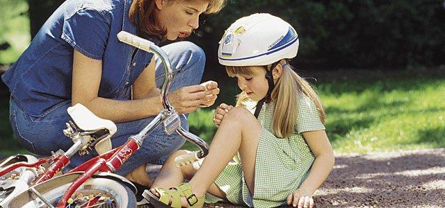 Qué hacer en caso de accidente infantil