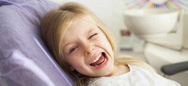 Edad adecuada para realizar un blanqueamiento dental en los niños.