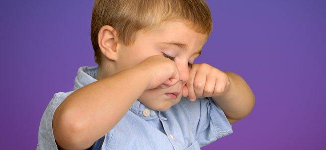 Blefaritis en la infancia