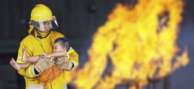 Qué hacer en caso de incendio