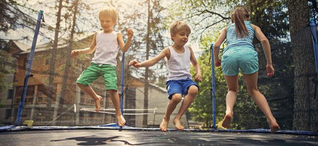 Riesgos de las camas elásticas para los niños