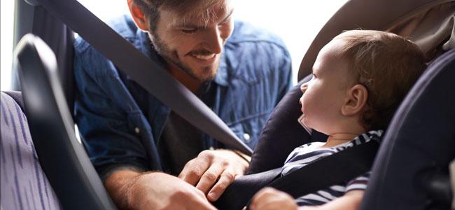 El uso del cinturón de seguridad reduce la mortalidad infantil