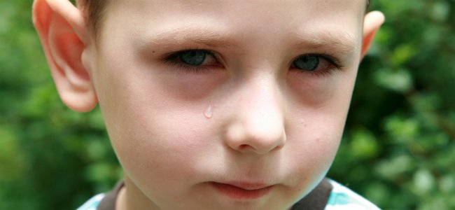 ojos de bebe con laganas