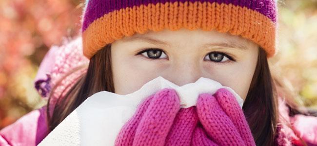 Consejos para que los niños no enfermen en invierno