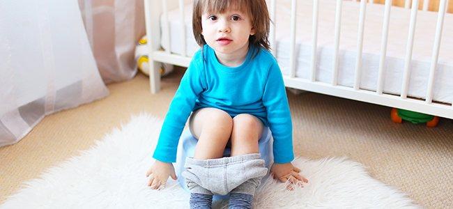 El control de la orina de los niños