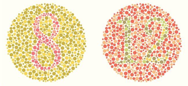 Test para averiguar si eres daltónico