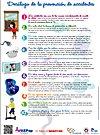 Decálogo de la prevención de accidentes en niños