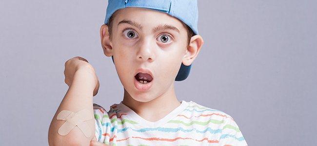 Decálogo para curar heridas en los niños