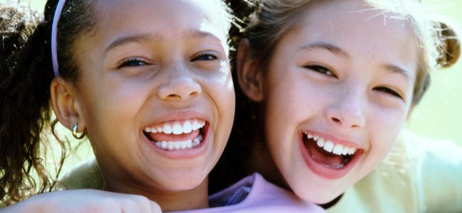 La salud de los dientes de los niños