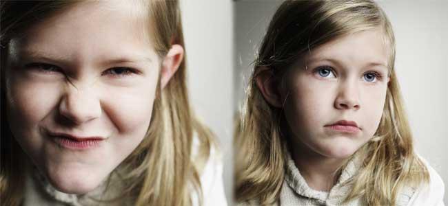 Síntomas de doble personalidad en los niños
