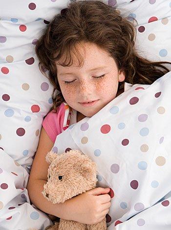 El sueño es necesario para los niños