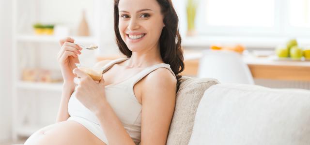 Los yogures para embarazadas