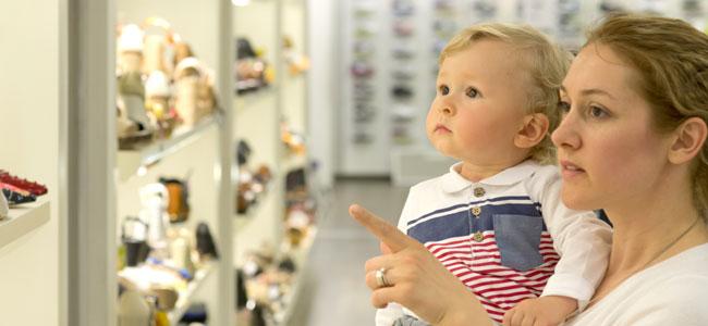 Errores a la hora de elegir calzado para los niños
