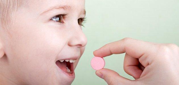 Los errores mas comunes en la medicación de los niños