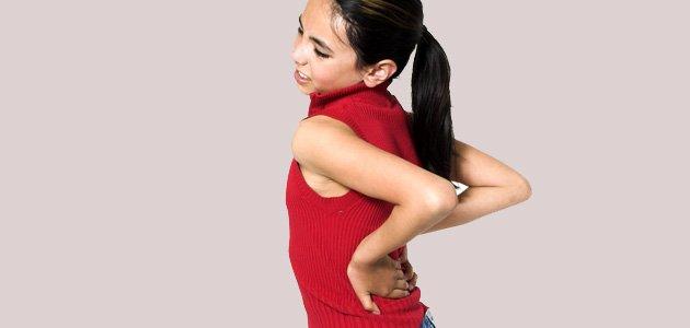 Los dolores de espalda durante la infancia