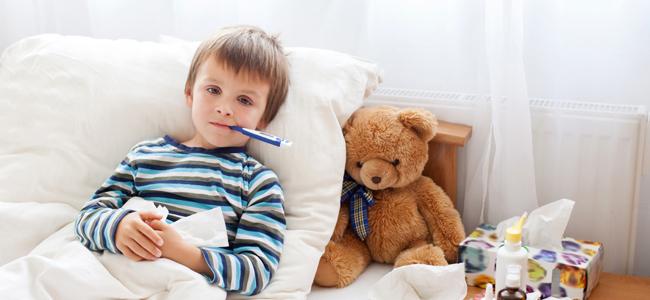 La fiebre en los niños