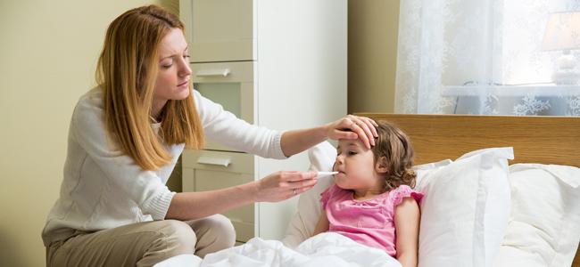 La fiebre en bebés y niños