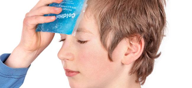 El frío como terapia para la salud de los niños