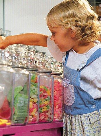 Golosinas y chuches para niños