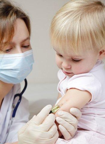 Vacuna de la gripe en bebés y niños