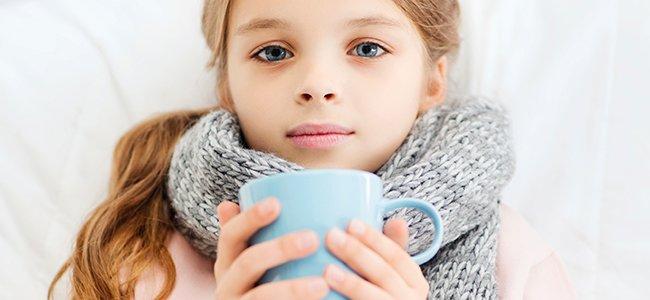 La gripe estacional en los niños