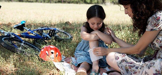 Infección en una herida