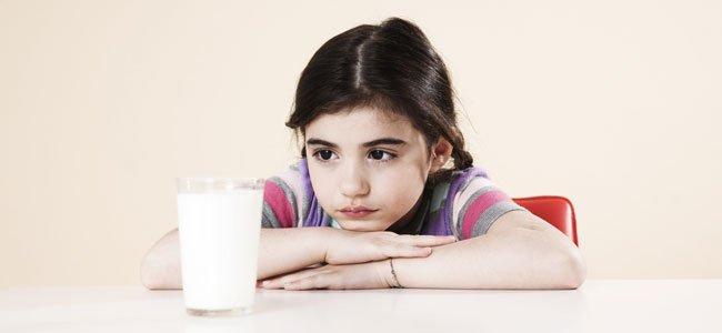 Niños alérgicos a algunos alimentos