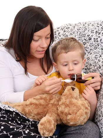Jarabe casero para la tos de los niños