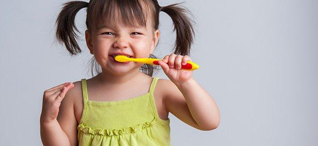 Higiene dental: cepillado de dientes