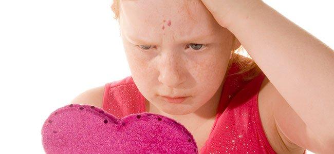 El molusco contagioso en niños