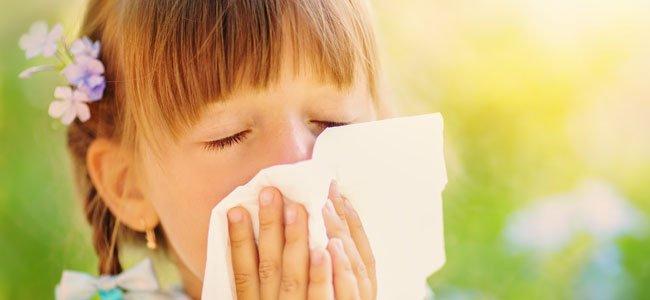 La reacciones alérgicas en los niños