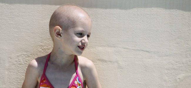 NIña con leucemia