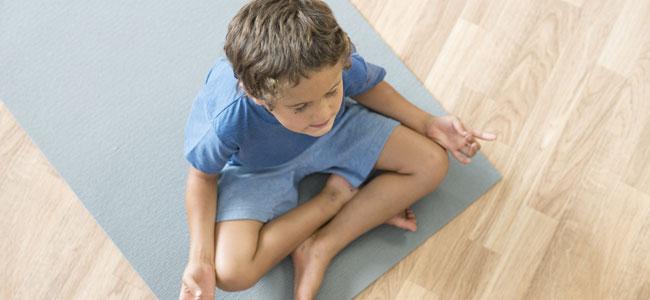 El yoga para niños con TDAH