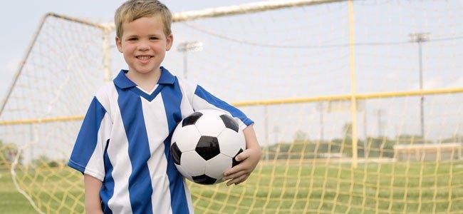 Niño de futbolista
