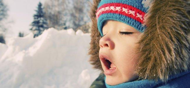 Niño respira por la boca