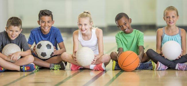 El exceso de deporte en los niños