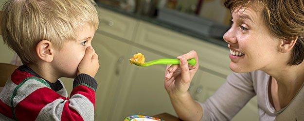 Cuando el niño no quiere comer