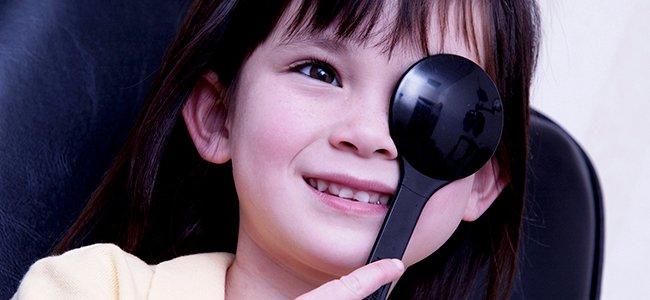 Niños con ambliopía