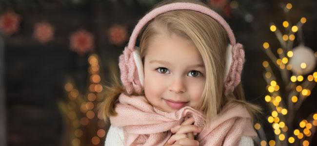 Salud de los oídos en Navidad