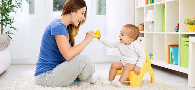 Como quitarle el pañal al bebé