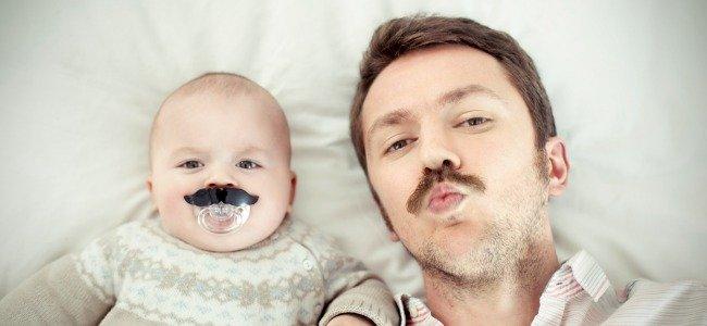 Los bebés se parecen a los padres