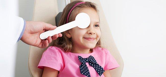 Tratamiento para el ojo vago