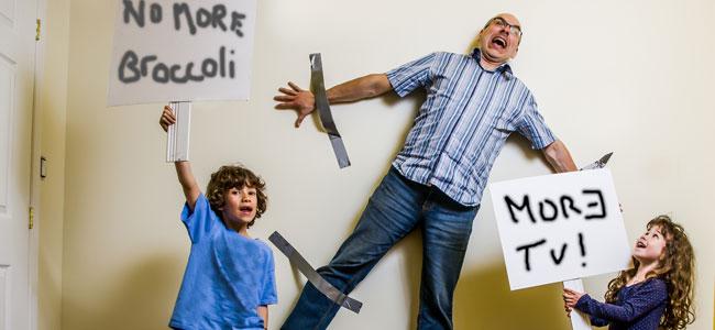 Cómo afrontar una pelea con los niños