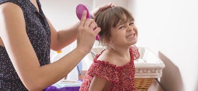 La caída del pelo de los niños
