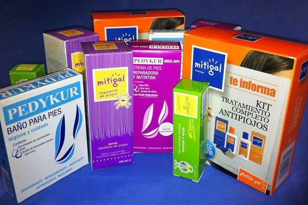 Set de productos para sorteo