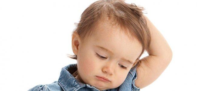 Piojos y liendres en bebés y niños