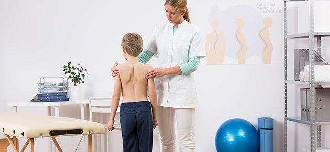 Lesiones comunes de espalda en niños