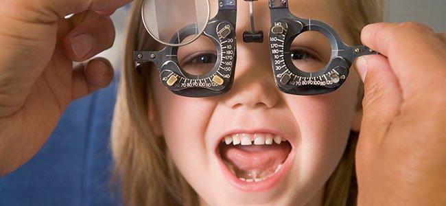 defectos visuales de los niños
