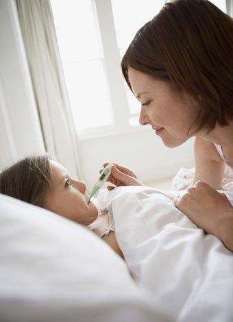 Cómo bajar la fiebre del niño