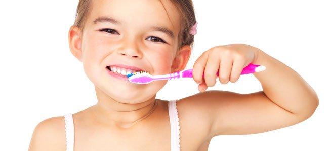 Sarro dental en niños
